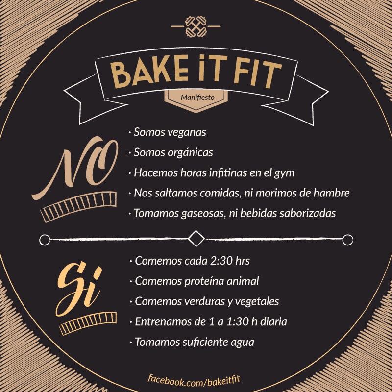 Bake it Fit: Dos & Don'ts | Más Acerca de Bake it Fit: Hábitos Cotidianos